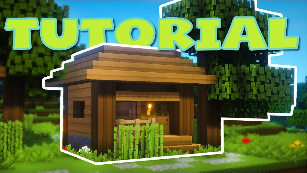 Minecraft bonita casa peque a de madera para - Casas de madera bonitas ...