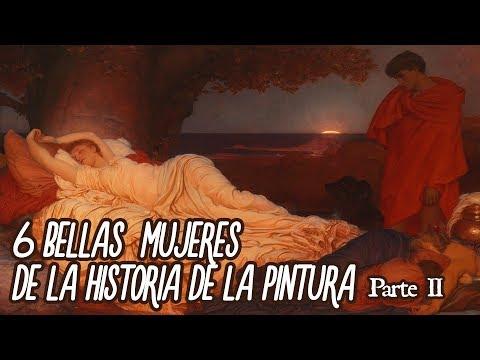 6 Bellas mujeres de la historia de la pintura parte II