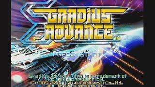 neXGam plays Gradius Advance (Gameboy Advance)