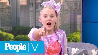 JoJo Siwa Reveals Her MULTIPLE Celebrity Crushes, Shows Off Her Favorite Dance Move | PeopleTV
