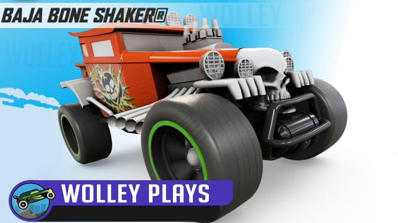 hot wheels race off baja bone shaker full upgrade cars racing videos racing cars for kids. Black Bedroom Furniture Sets. Home Design Ideas