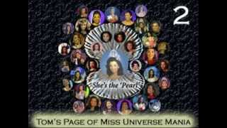 Miss Universe Winners from 1952 to 2013 Pageant Montage