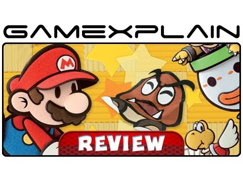Paper Mario: Sticker Star - Video Review (Nintendo 3DS) [HD]