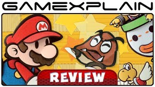 Paper Mario: Sticker Star - Video Review (Nintendo 3DS) [HD]