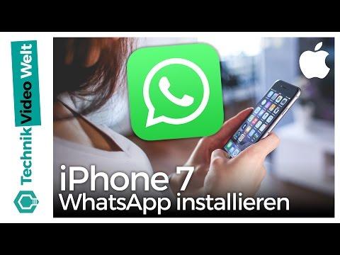 IPhone 7 WhatsApp Installieren Und Einrichten