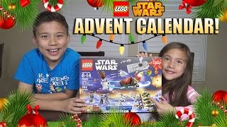 2015 LEGO STAR WARS Advent Calendar! 7 Door Surprise Unboxing! Set 70597