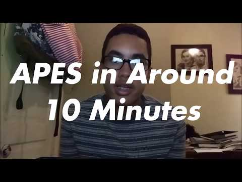 AP Environmental Science in (Around) 10 Minutes