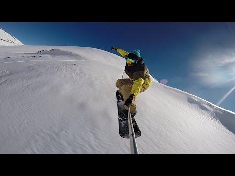 Snowboarding in Hawaii - Mauna Kea 2017