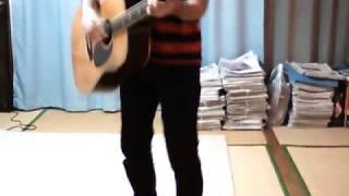 HALCALI の LOOK を弾き語ってみました。ギターはモーリスのW-50ってモ...