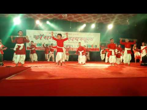 Cosmos high school annual 2017 choreoghphy kiran bramhraj