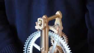 Brian Law's Woodenclocks-clock 12-final Assembly