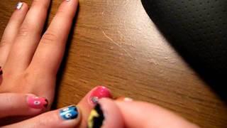 Easy to do zig zag nail