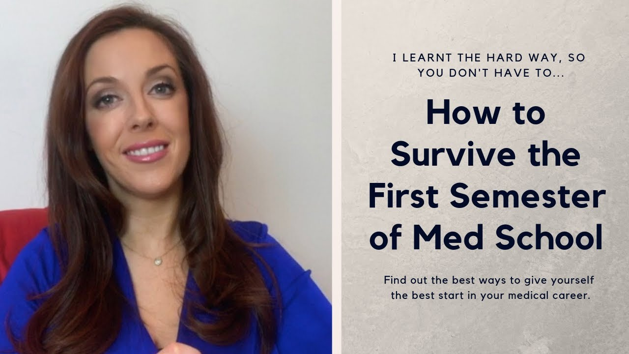 Surviving my first semester in med school — Maire Treasa Ni