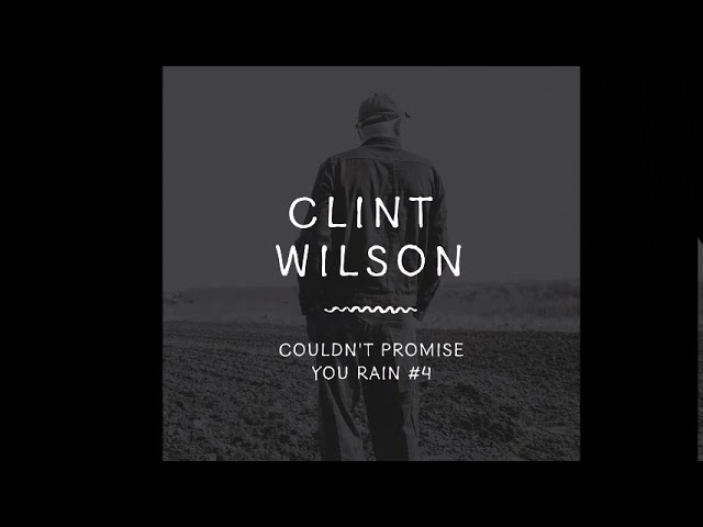 Clint Wilson at Home with Tracy & the Big D, June 2020