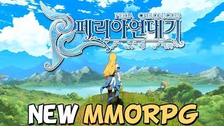 Peria Chronicles: New Upcoming Anime MMORPG