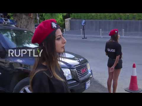 Lebanon: Female police officers in shorts cause a stir