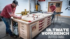 Ultimate Workbench / Table Saw Outfeed Table | Woodworking Project