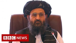 Taliban leader bust-up over credit for Afghanistan victory - BBC News