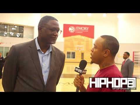 Dominique Wilkins Talks Atlanta Hawks New HC Lloyd Pierce, 2018 NBA Playoffs, 2018 NBA Draft & More