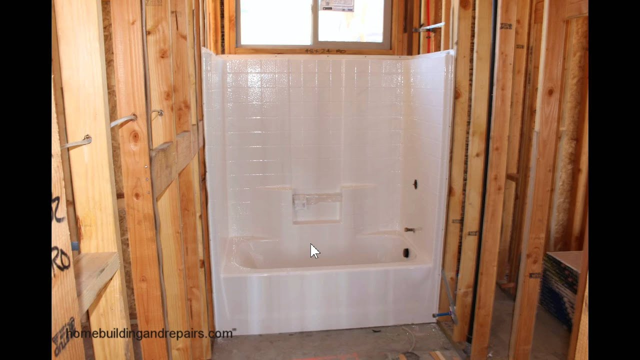 Don 39 T Forget To Insulate Behind Bathtubs Against Exterior Walls Youtube