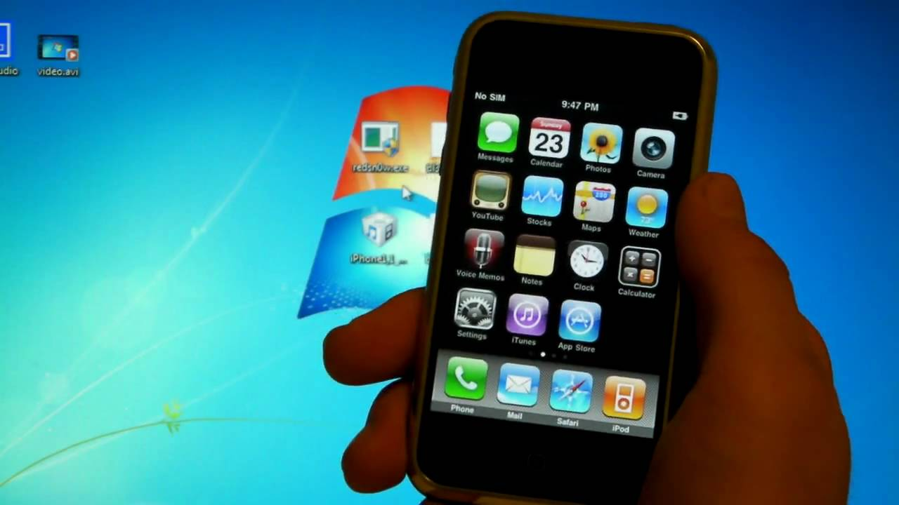 Jailbreak Unlock IPhone 2G On 313 3g