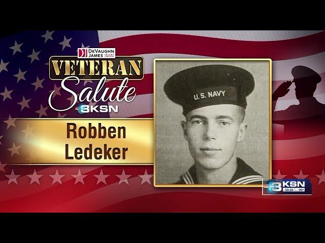 Vet Salute: Robben Ledeker