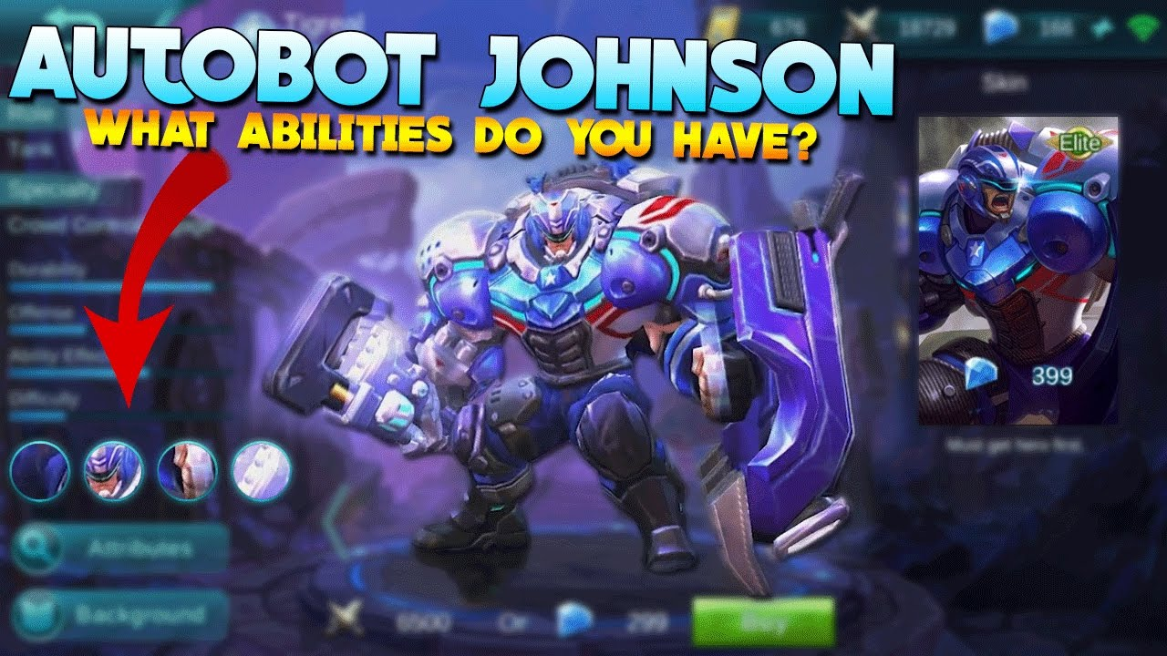 Mobile Legends Johnson Build