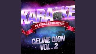 Tous Les Blues Sont Ecrits Pour Toi — Karaoké Avec Chant Témoin — Rendu Célèbre Par...