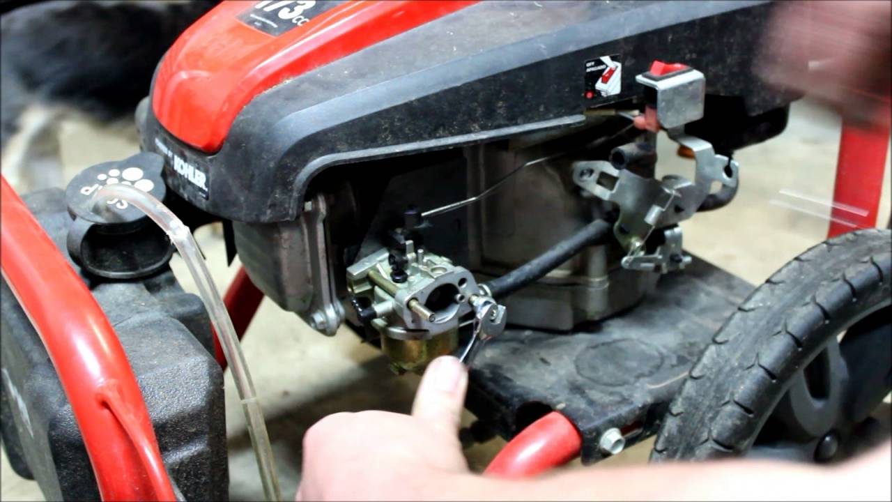 Carburetor Replacement On A Kohler Courage Xt 7 Youtube