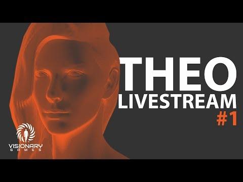 Art Live Stream - Master (Theo) Modelling #1