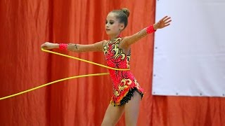 Rhythmic gymnastics with rope in Russia 6