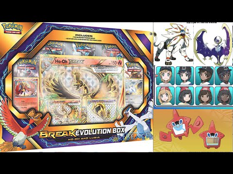 Pokemon News Update: HUGE Sun and Moon News, Break Evolution Box, XY11!