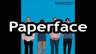 Watch Weezer Paperface video