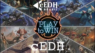 Play to Win vs cEDH Brasil - Green Grixis vs Adv.Evolution vs Mad Farm vs Turbo Naus - cEDH Gameplay