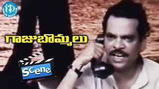 Gaaju Bommalu Movie Scenes - Poornima Escapes From Goons    Gummadi    Sarath Babu