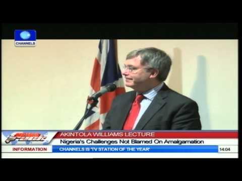 AKINTOLA WILLIAMS LECTURE:: Nigeria/British Partnership In Focus