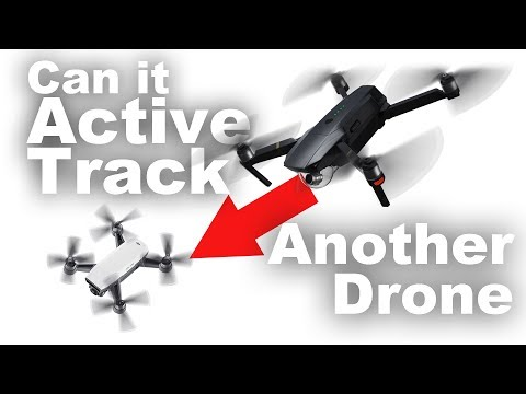 Can the Mavic Pro Active Track Another Drone?