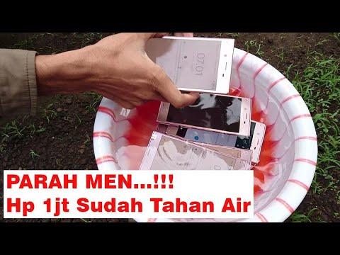 PARAH MEN...!!! Hp 1jt Sudah Tahan Air : Review Sony Xperia XZ