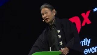 Kami Kiri (Paper Cutting) Performance | Imamaru Hayashiya | TEDxTokyo