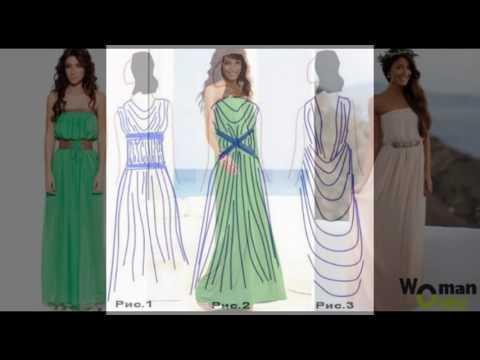 Греческое платье — сшить своими руками
