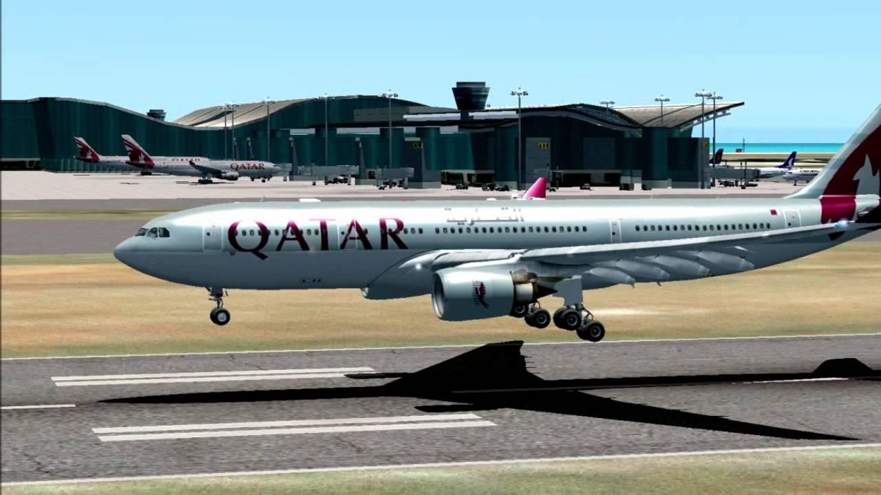 [FSX HD] Qatar Airways A330 x A350XWB