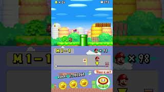 New Super Mario Bros. - World 1-1 in 32 seconds
