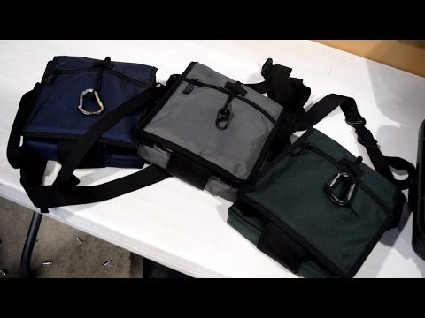 Ballistic Off Body Bag (B.O.B.B.): Full-Size Handgun & Armor Concealment