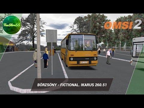 Видео: [OMSI 2] ПО BÖRZSÖNY - FICTIONAL НА IKARUS 260.51