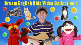 Video Dream English Kids Video Collection 1 | With Matt, Tunes, Bell | Animals, ABCs, Numbers and More download MP3, 3GP, MP4, WEBM, AVI, FLV November 2018