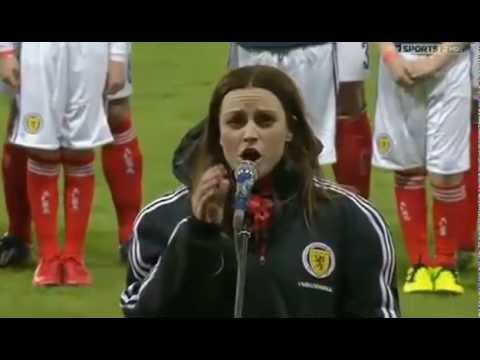 Pride of Scotland - Amy Macdonald - 22-3-2013 - Scotland vs Wales