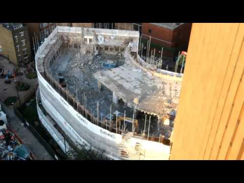 Minories Demolition Timelapse