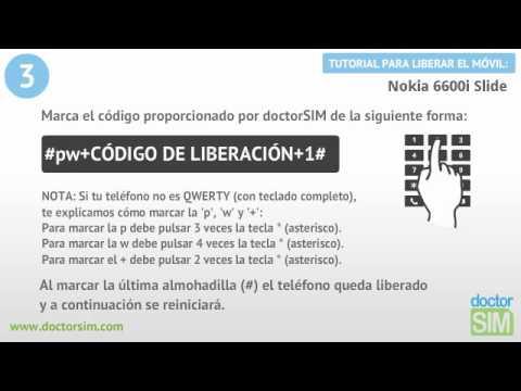 Liberar móvil Nokia 6600i Slide | Desbloquear celular Nokia 6600i Slide