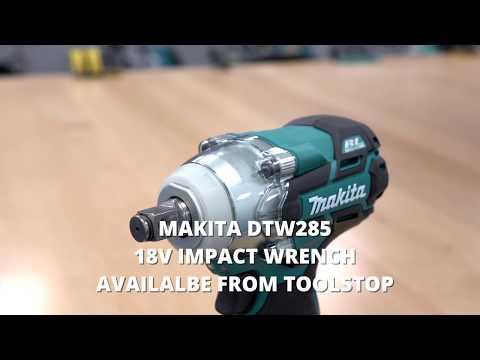 Видео обзор: Гайковерт MAKITA DTW 285 Z