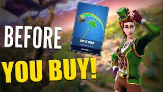 Pot O' Gold   SGT. Green Clover - Before You Buy - Fortnite